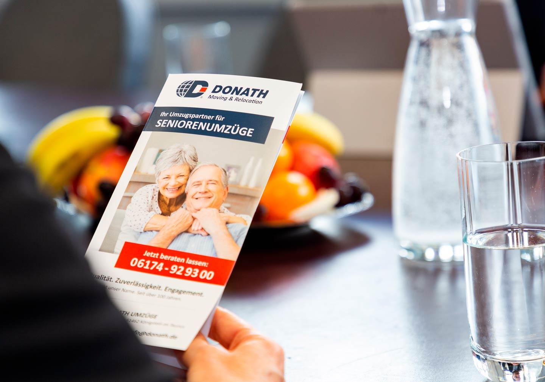 Seniorenumzuege DONATH Moving & Relocation