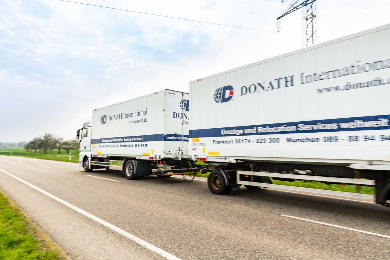 Umzuege International Donath Moving & Relocation