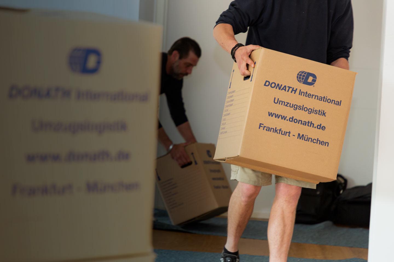 Umzugsunternehmen Frankfurt – DONATH Moving & Relocation