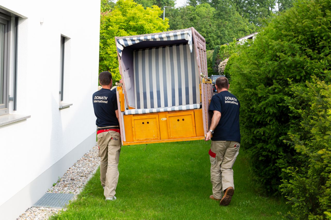 Umziehen Privatumzug DONATH Moving & Relocation