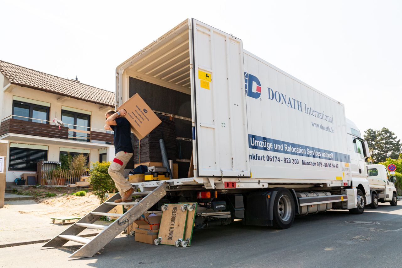 Internationaler Umzug DONATH Moving & Relocation