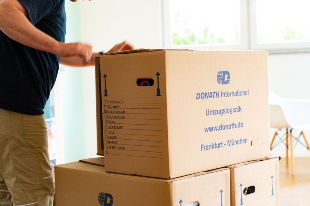 Internationaler Umzug DONATH Moving & Relocation