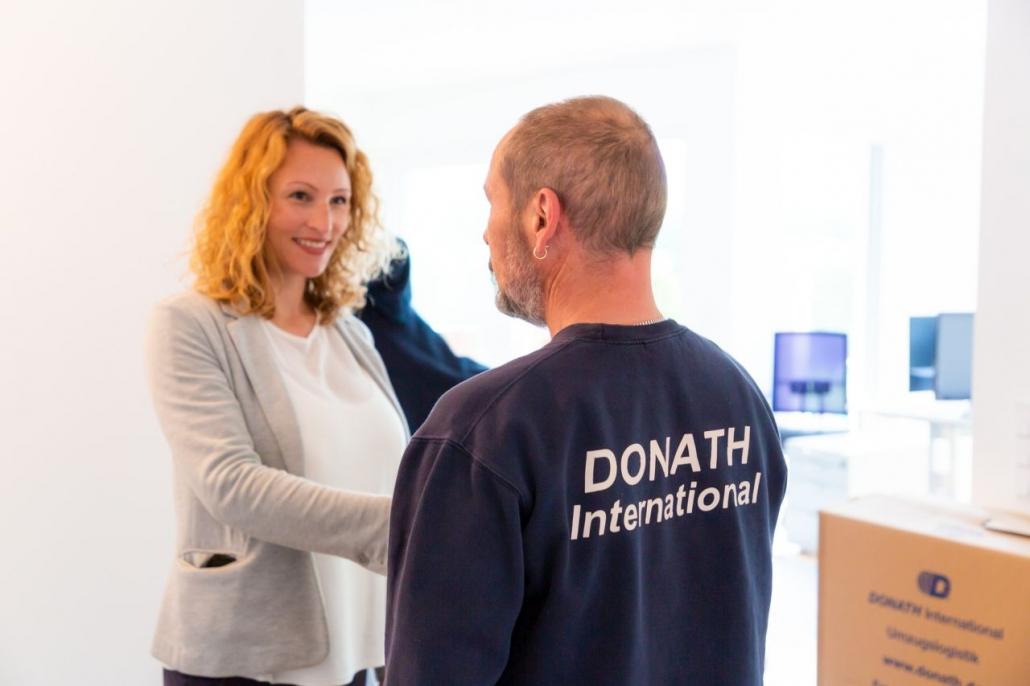 DONATH Relocation Auszug