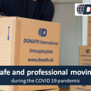 safe moving during corona donath
